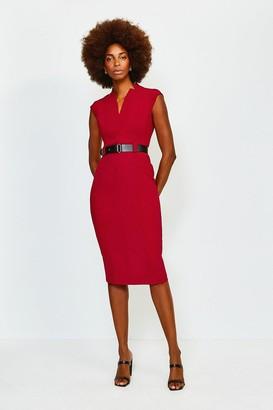 Karen Millen Forever Cap Sleeve Dress