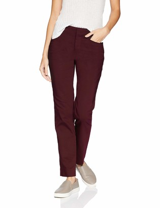 Chaps Women's Skinny Double Cloth-Pant