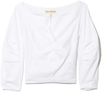 Mara Hoffman Lela Top in White