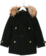 Woolrich Kids double breasted coat