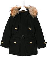 Woolrich Kids - parka - kids - Cotton/Feather Down/Nylon/Coyote Fur - 6 yrs