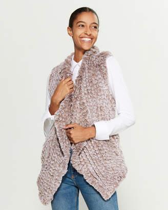 Stella + Lorenzo Kiera Faux Fur Vest