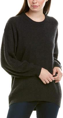 Splendid Dropped-Shoulder Cashmere Pullover