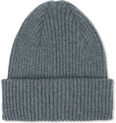 Paul Smith Accessories Ribbed Cashmere Beanie