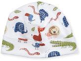 Kissy Kissy Jungle Rumble Pima Hat, White/Navy