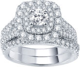 JCPenney MODERN BRIDE Modern Bride Signature 2 CT. T.W. Certified Diamond Bridal Set