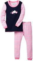 Coccoli Striped Pajama Set (Baby)