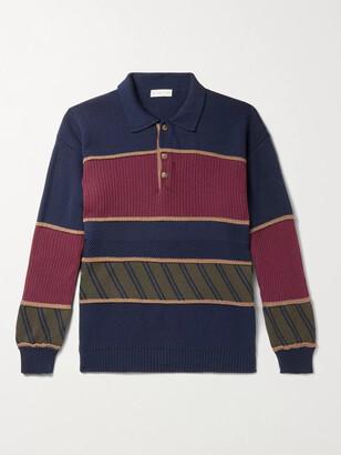 Etro Striped Virgin Wool Rugby Shirt
