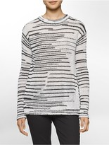 Calvin Klein Space-Dyed Crewneck Sweater