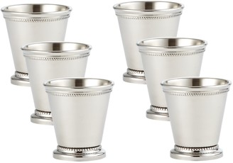 Elégance Beaded Mint Julep Cup Mini Set of 6