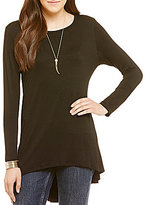 Soprano Long Sleeve High-Low Tunic