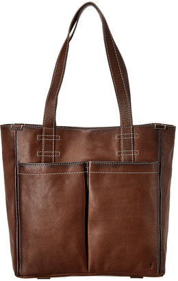 Frye Mindy Pocket Leather Tote