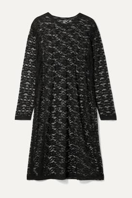 Norma Kamali Stretch-lace Dress - Black