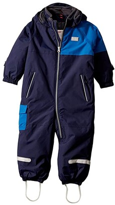 Lego Themed Bionic Ski and Snowsuit with Detachable Hood (Infant/Toddler) (Navy Block) Kid's Jumpsuit & Rompers One Piece