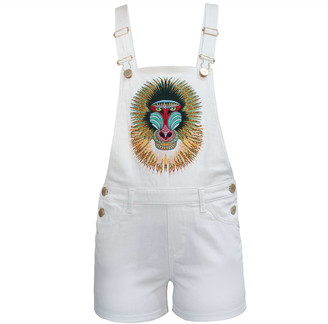 My Pair Of Jeans Baboon Short Overalls