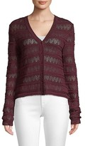 Thumbnail for your product : M Missoni Open Knit Cardigan