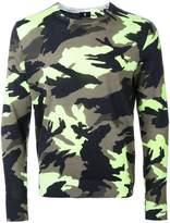 Kent & Curwen camouflage slim-fit jumper
