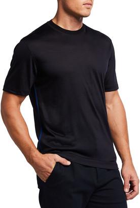 Ermenegildo Zegna Men's Solid Wool T-Shirt