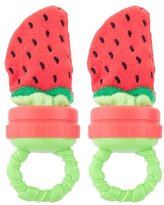 Sassy Strawberry Terry Teether 2 pack
