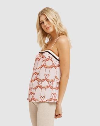 Vestire Flamingo Hearts Cami
