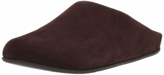 FitFlop Men's Shove Mule Leather' Open Back Slippers