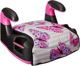 Evenflo Amp LX No Back Butterfly-82 on Hand Booster Car Seats, Pink/Black/Grey