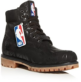 Timberland x Nba Men's East Vs. West Logo Waterproof Nubuck Leather Boots