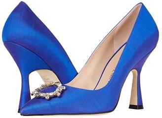 Stuart Weitzman Mindee 100 Crystal (Royal Blue) Women's Shoes