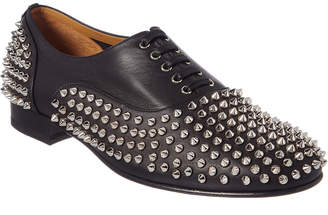 Christian Louboutin Freddy Spike Leather Oxford