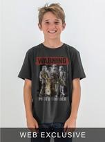 Junk Food Clothing Kids Boys Star Wars Photobomber Tee-black Wash-xs