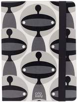 Orla Kiely Fashion Folio-Style Protective Case & Stand For All 10 Inch IPad/Tablet - Martian Print Design