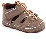 Joseph Allen Brown Contrast Stripe Sandal