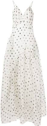 Ermanno Scervino Dotted Maxi Dress