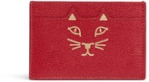 Charlotte Olympia 'Feline' cat face card holder