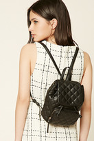 Forever 21 FOREVER 21+ Quilted Mini Backpack