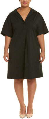 Lafayette 148 New York Plus Zamira A-Line Dress