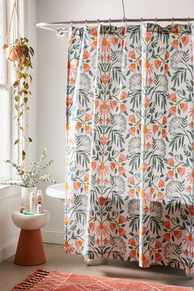 Urban Outfitters Camille Floral Shower Curtain