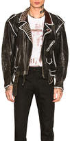 Enfants Riches Deprimes Subhumans Leather Jacket