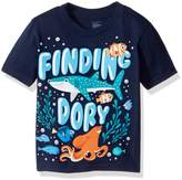 Disney Little Boys' Toddler Finding Dory Under the Sea Short Sleeve T-Shirt