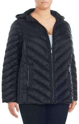 MICHAEL Michael Kors Packable Down Quilted Jacket