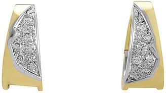 Heritage 18K Two-Tone 1.10 Ct. Tw. Diamond Earrings