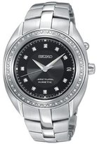 Seiko Women's SKA895 Silver Stainless-Steel Automatic Watch with Dial