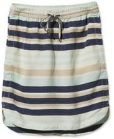 L.L. Bean Signature Tencel Skirt, Stripe