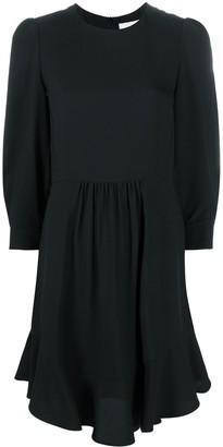 Chloé Silk Flared Dress