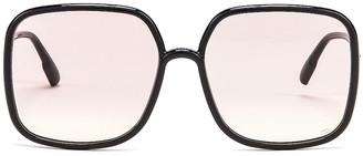Christian Dior Stellaire Sunglasses in Black & Pink | FWRD