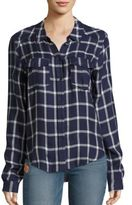 Paige Mya Plaid Blouse