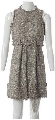 Chanel Silver Cotton Dresses