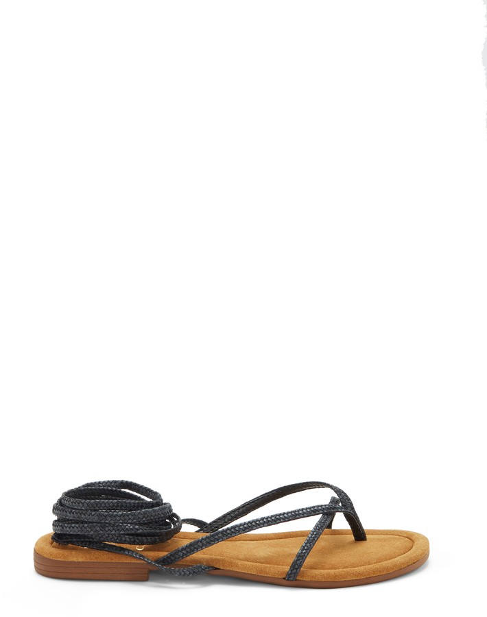 Vince Camuto Beesa Braided Ankle-Wrap Sandal
