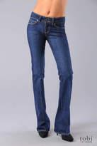 Paige Premium Denim Hidden Hills Tall High Rise Bootcut Jeans in Barcelona Blue