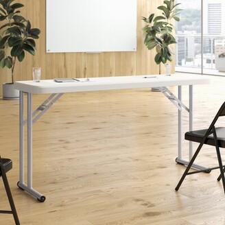 "Seminar 60"" Rectangular Folding Table National Public Seating"